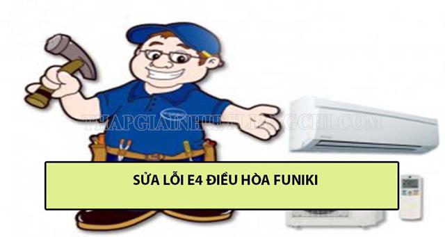 Lỗi E4 đối với điều hòa Funiki
