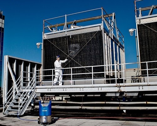 hoá chất tẩy rửa đường ống tháp giải nhiệt