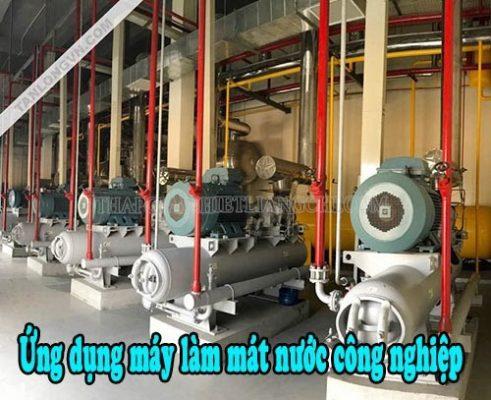 ứng dụng của máy làm mát công nghiệp