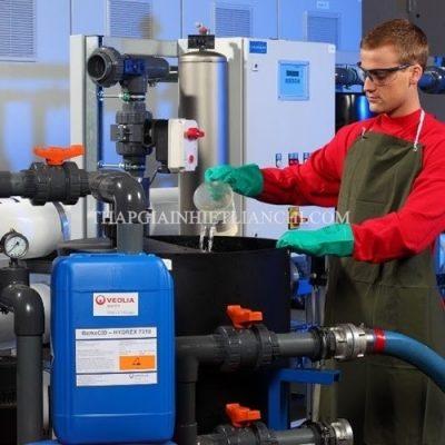 cách sử dụng hoá chất bảo trì tháp giải nhiệt