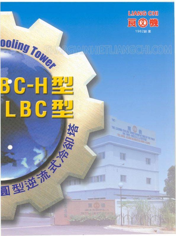 Bìa cuốn catalogue tháp giải nhiệt Liang Chi