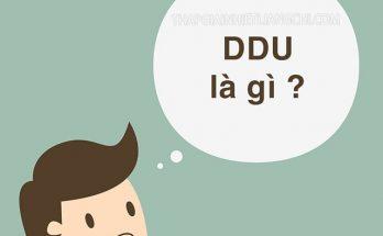 DDU là gì?