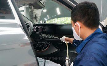 cách vệ sinh máy lạnh ô tô
