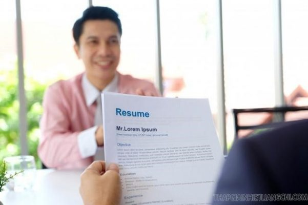 Viết Resume bằng tiếng Anh