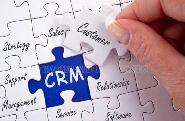 CRM tạo ra môi trường làm việc chuyên nghiệp