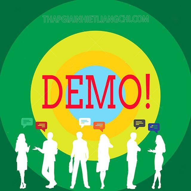 Ý nghĩa của bản demo rất quan trọng trước khi ra mắt bản chính thức đối với khách hàng và doanh nghiệp