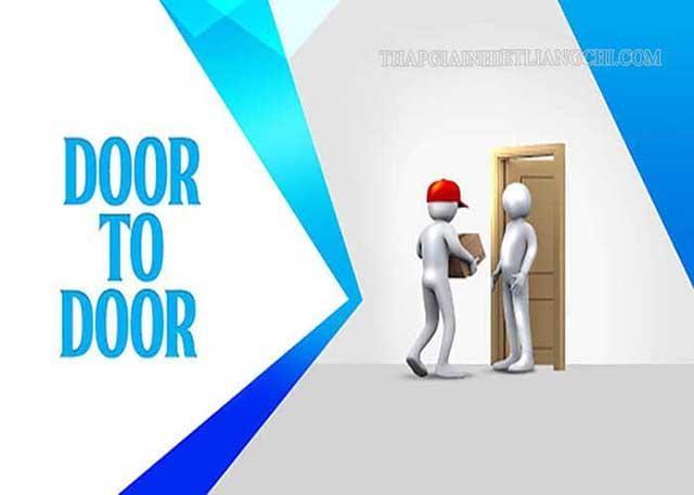 Dịch vụ door to door là gì?