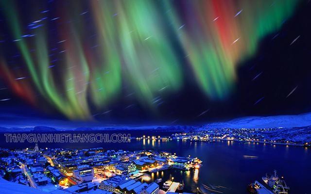 Những quốc gia châu Âu là nơi có thể theo dõi hiện tượng cực quang một cách thuận lợi