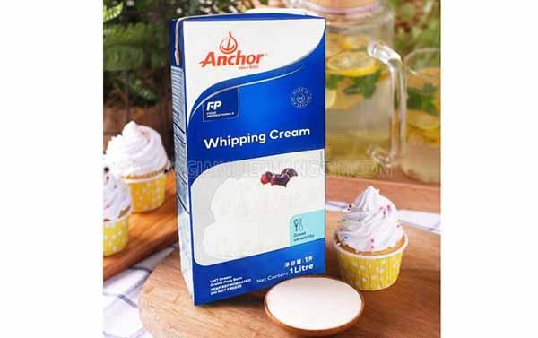 Whipping cream là gì?