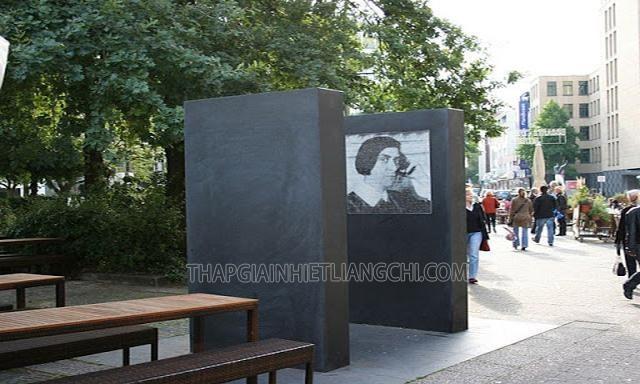 Đài tưởng niệm Else lasker-schüler tại Đức.