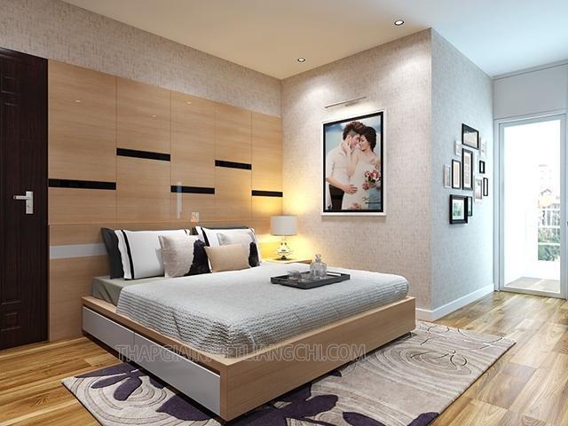 Giường gỗ MDF