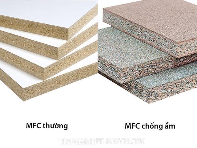 Gỗ MFC bao gồm hai loại chính