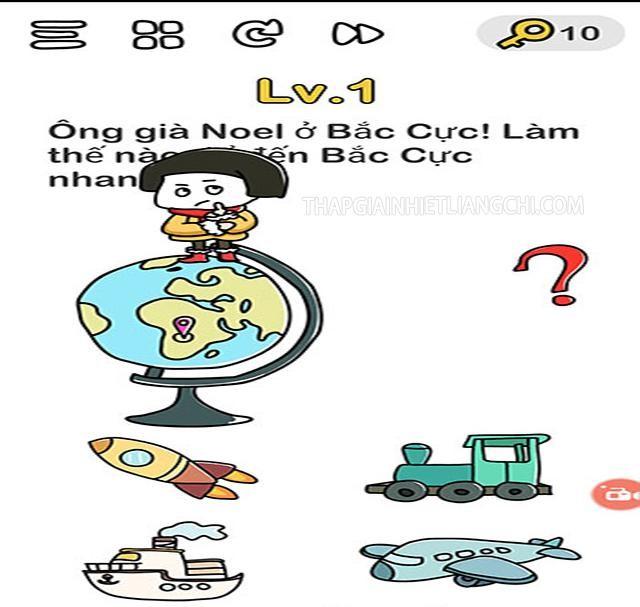 Đáp án Brain Out Noel Level 1