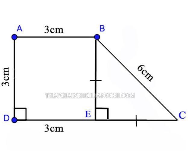 Hình thang vuông ABCD