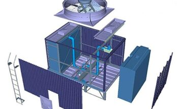 Cấu tạo của tháp giảm nhiệt Kuken